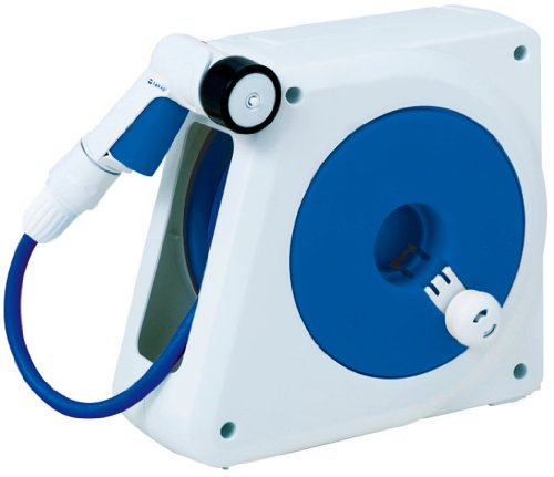タカギ(takagi) オーロラ NANO コンパクト収納 散水ホースリール 15m RM215FJ【2年間の安心保証】