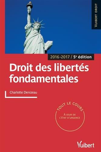 Droit des libertés fondamentales - Tout le cours - 2016-2017