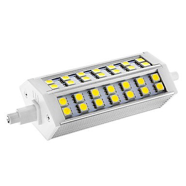 Dimmable R7S 10W 42X5050Smd 550Lm 6000-6500K Cool White Light Led Corn Bulb(Ac 110-130V)