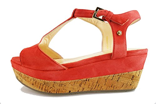 SAMSONITE sandali donna corallo camoscio AG618 (38 EU)