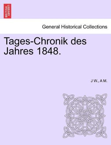 Tages-Chronik des Jahres 1848.
