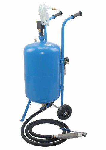 ALEKO® 100lb Portable Soda Blaster Paint Remover on Wheels Blast - Blasting Paint Removal