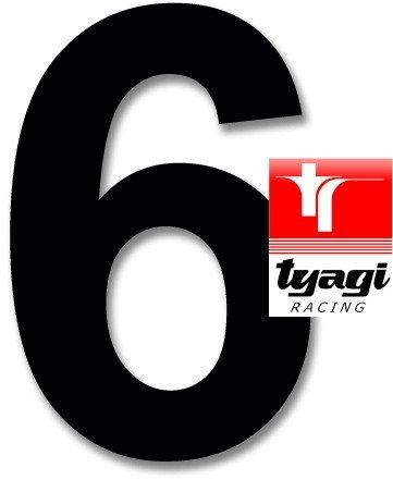 Racing Number 6 Height 5
