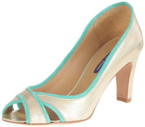 Atelier Voisin - Scarpe col tacco, Donna, Oro (Or (Chic Gold Suede Green)), 38