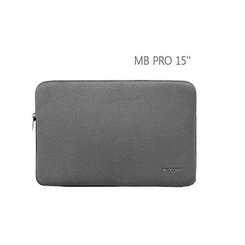 "Incase Macbook Pro 15"" Neoprene Sleeve Grey"