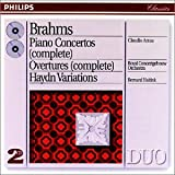 Brahms: Piano Concerto in Bf No2, Op83; Piano Concerto in Dm No1, Op15