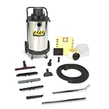 Shop-Vac 9700410 3.0-Peak Horsepower Industrial Stainless Steel Wet/Dry Vacuum, 20-Gallon
