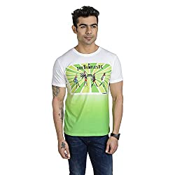 Total Football Highway To Hell Poly Cotton T-Shirt For Men (Size: Medium)