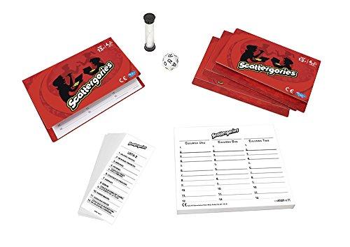 Hasbro Gaming - Scattergories, juego de preguntas (A5226105) (versión española)