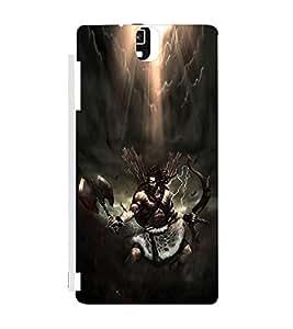 EPICCASE Thunder warrior Mobile Back Case Cover For Infocus M330 (Designer Case)