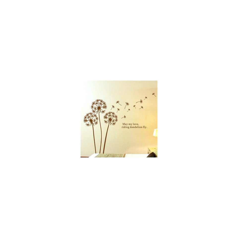 Flying Dandelion   Loft 520 Kids Nursery Home Decor Vinyl Mural Art Wall Paper Stickers