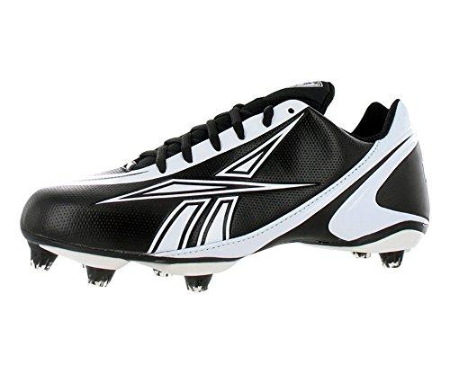 Reebok Nfl Burner Speed Low Sd3 Fb Mens Football Shoes Black/white Size reebok furylite white