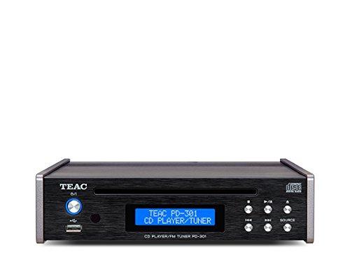 09PD301B50 TEAC-Lettore CD con radio FM, colore: nero