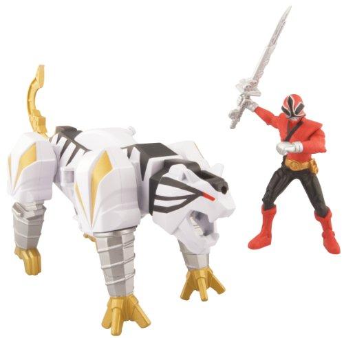 Power Ranger Samurai TigerZord And Mega Ranger Fire (Bandai Power Rangers Samurai compare prices)