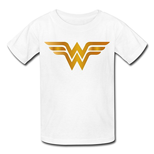 AOPO Wonder Woman LOGO T Shirt For Kids Unisex