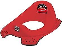 OKT Kids 1081940100500 - Asiento de inodoro para niños, diseño de Cars, color rojo