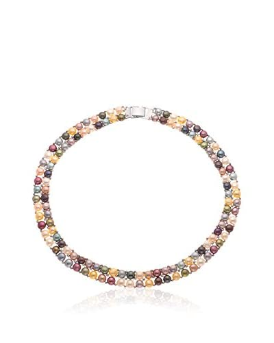 Mitzuko Collar Rainbow Pearls