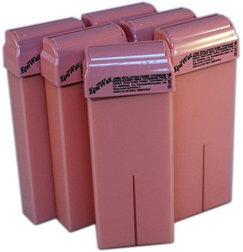 epilwax-sas-lot-de-6-roll-on-de-cire-jetable-rose-pour-epilation-avec-roulette-grand-modele-pour-les