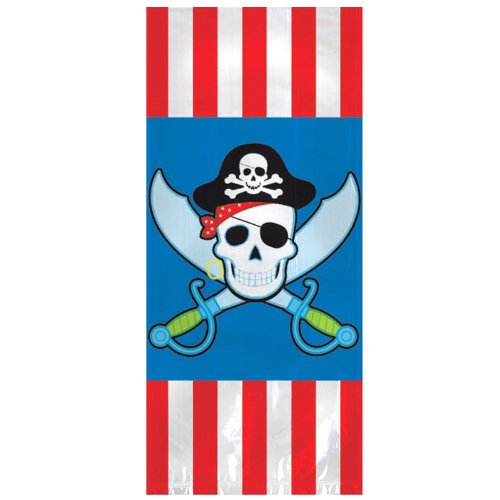 Large Pirate Treat Bags Party Accessory - 1