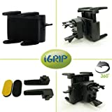 iGrip (Herbert Richter) Universal GPS Navigation Gripper Holder with Swivel Vent Mount KIT