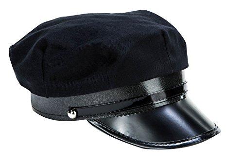 Kangaroo's Black Chauffeur Limo Driver Costume Hat