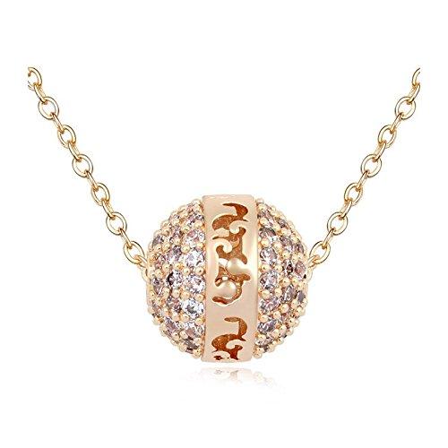 depot-tresor-pendant-necklace-gold-plated-swarovski-element-crystal-christmas-present-new
