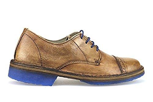 WALLY WALKER AJ339 classiche uomo marrone pelle (39 EU)