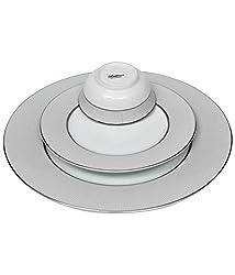 Lakline Porcelain Dinner set of 18 Pieces - HL80141