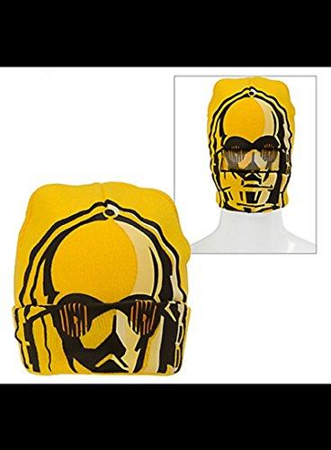 C-3PO Roll-Down Mask Beanie - Star Wars