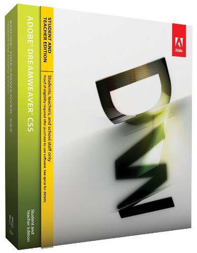 Adobe Dreamweaver CS5 Student & Teacher Edition[OLD 