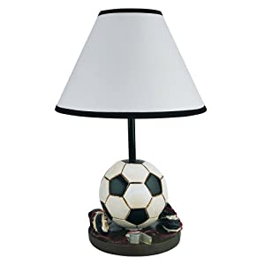 ORE International 31604SC 15H Soccer Table Lamp