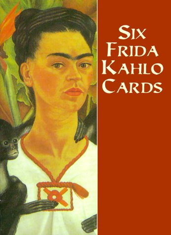 Six Frida Kahlo Postcards (Dover Postcards)