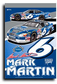 Mark Martin - Nascar Banner by Flagline.com