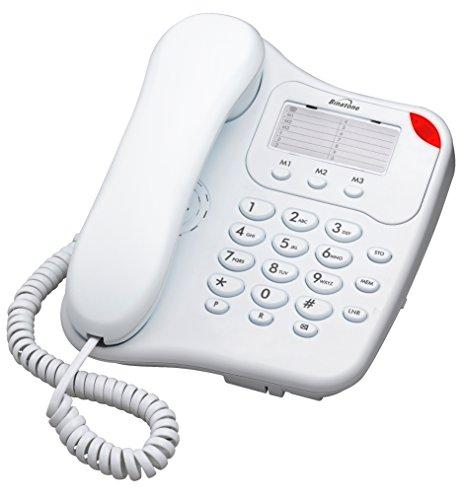 Binatone Lyris 110 Telefono fisso con filo colore bianco con indicatore luminoso