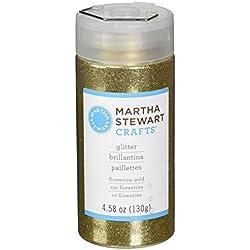 Martha Stewart Crafts Fine Glitter, Florentine Gold, 4.58 Ounces