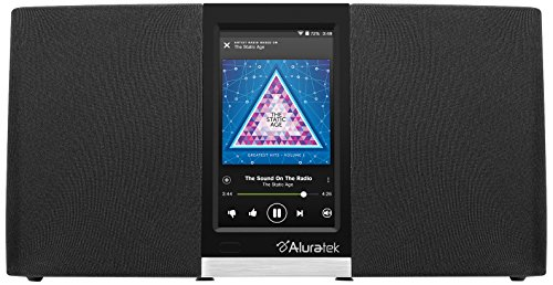 Aluratek-AIRMM03F-Wi-Fi-Internet-Radio-Streaming-Pandora-Slacker-iHeart-Spotify-Black