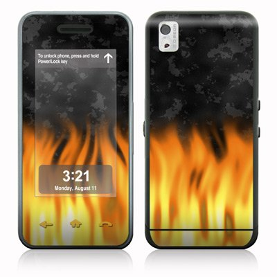 BBQ Design Protective Skin Decal Sticker for Samsung Instinct SCH-M800 Cell Phone