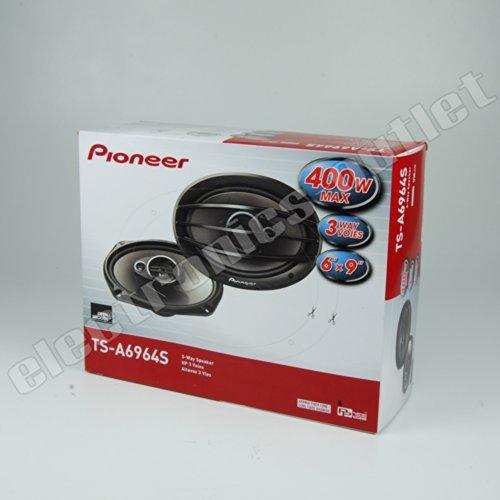 "Pioneer Ts-A6964S 6"" X 9"" 3-Way Coaxial Speakers (400W)"