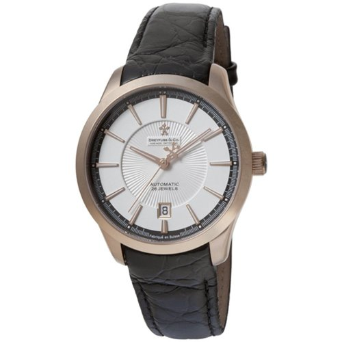 Dreyfuss Gents Automatic Leather Strap Watch DGS00067-06 DGS00067-06