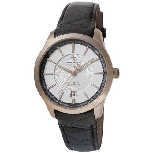 Dreyfuss Gents Automatic Leather Strap Watch DGS00067-06 DGS00067-06