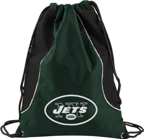 New York Jets Hunter Green Axis Backsack at Amazon.com