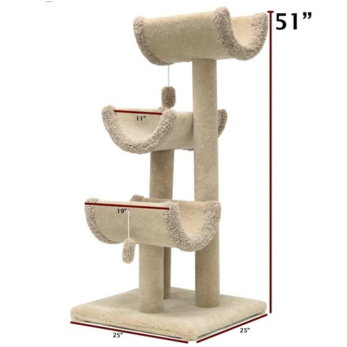Majestic Pet 51-Inch Kitty Cat Jungle Gym