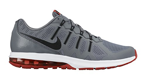 Men's Nike Air Max Dynasty Running Shoe Cool Grey/Crimson/White/Black Size 8 M US (Air Supply Shoes compare prices)