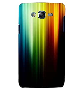 PrintDhaba Rainbow Colours D-2276 Back Case Cover for SAMSUNG GALAXY J7 (Multi-Coloured)