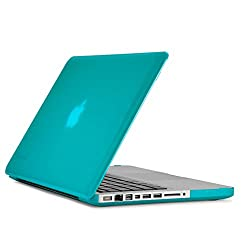 Speck Products MacBook Pro 13-Inch See-Thru Hard Plastic Case neon (calypso blue)