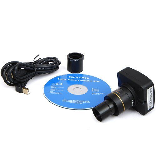 Variscope 5.0 Mp Usb2.0 Telescope Digital Camera And Software, Compatible With Windows Xp/Vista/8 And Mac Os 10.6 & Up