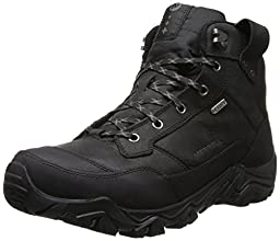 Merrell Men\'s Polarand Rove Waterproof Winter Boot,Black,13 M US
