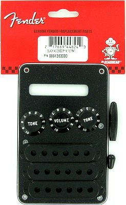 Fender Accessories 099-1363-000  Electric Guitar Strat Accessory Kit - Black