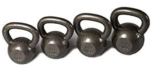 j/fit Cast Iron Kettlebell