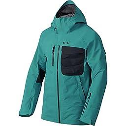Oakley Men\'s Solitude Gore-Tex 3L Jacket, Aurora Blue, Medium